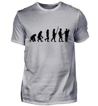 Evolution zum Kellner - T-Shirt