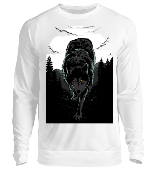 Herren Langarm Shirt Dark Wolf Ramirez