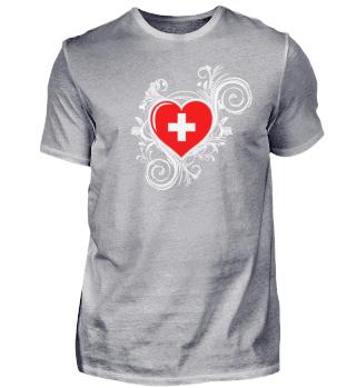 Schweiz Schweizerkreuz Herz Liebe
