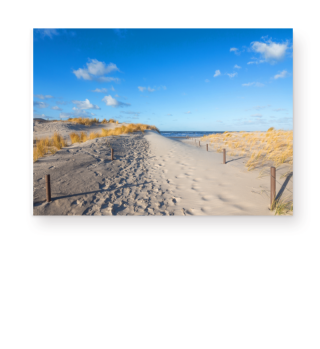 Strandaufgang zum Meer