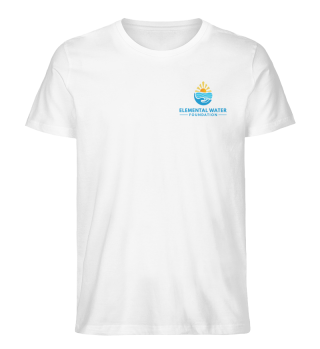 Organic T-shirt with Colourful Logo