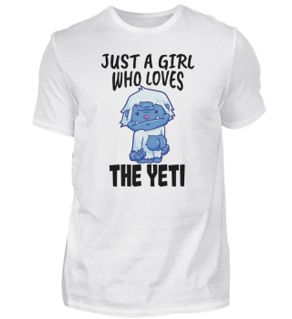 Yeti Bigfoot Sasquatch Love Girls