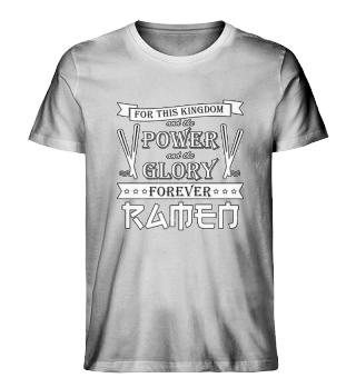 Ramen Noodle Soup Shirt Christian