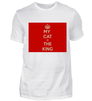MY CAT IS THE KING