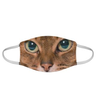 Gesichtsmaske mit Katzenmotiv 20.76