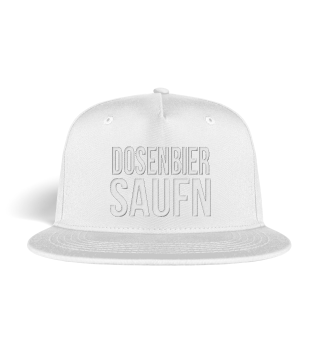 Dosenbier Saufen Snapback Cap Mütze