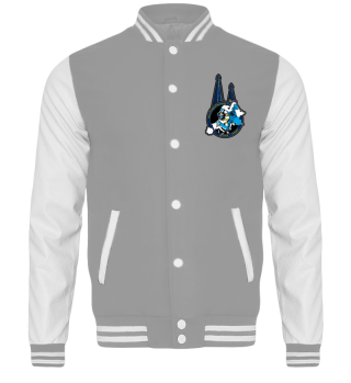Blue Knights EC 19' Collegejacke Front