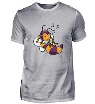 Biene Honig Stachel Königin Summen Musik