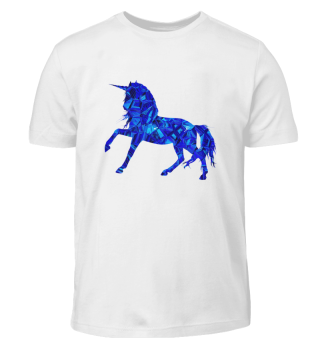 Blaues Einhorn