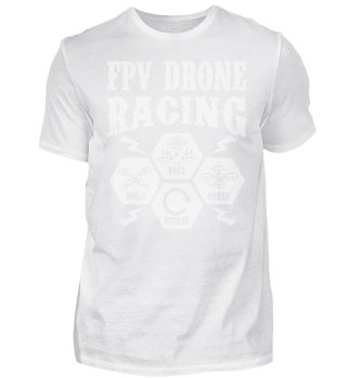 FPV Drone Racing Build Race Crash Repeat