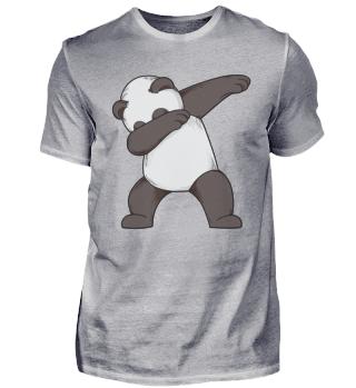 Dabbing Panda Bär
