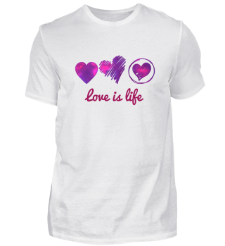 Love is life Valentinstag