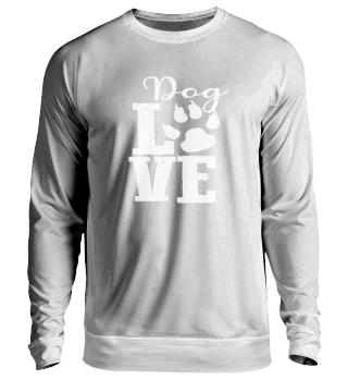 Dog Love - white Font