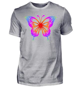 Schmetterling zum Ausmalen I - bunt