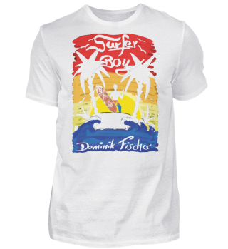 Dominik Fischer Surfer T-Shirt