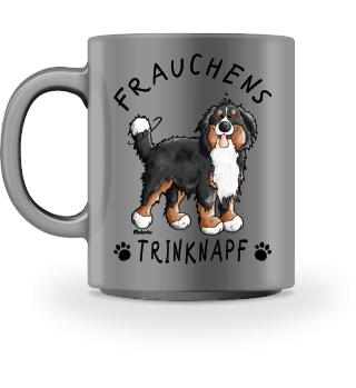 Berner Sennenhund Frauchens Trinknapf