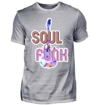 Soul & Funk Gitarre Retro Geschenkidee