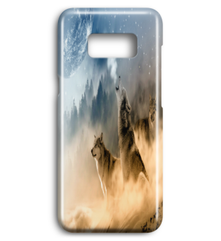 SNOW WOLVES SAMSUNG PREMIUM PHONE CASE