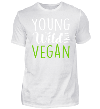Young wild and vegan MM