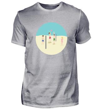 Volleyball Players Beach Sport Gift Idea