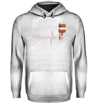 Geschenk Heartbeat Grillen Bauchspeck