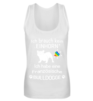 ICH BRAUCH KEIN... BULLY HUND BULLDOGGE | Damen Premium Shirt - Shirtee.de
