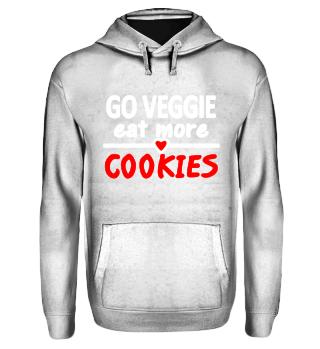 cooler Vegetarier Spruch Veggie Cookies