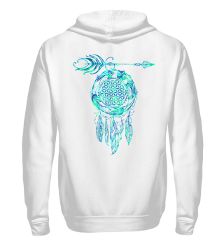FLOWER OF LIFE Sea Turtle Dreamcatcher 3