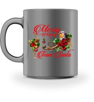 ♥ MERRY CHRISTMAS · TEAM SANTA #1RT