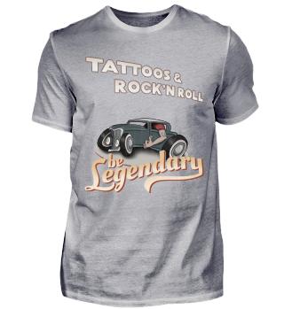Tattoos & Rock'N Roll be Legendary gift