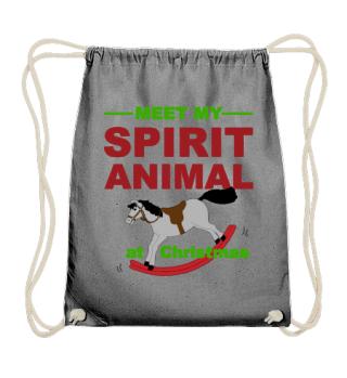 Meet Spirit Animal - Rocking Horse Xmas