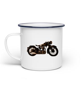 Klassisches Motorrad Oldtimer