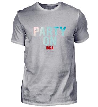 Party on Ibiza Party-Strand-Urlaub