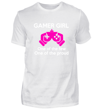 Gamer girl one of the few one of the