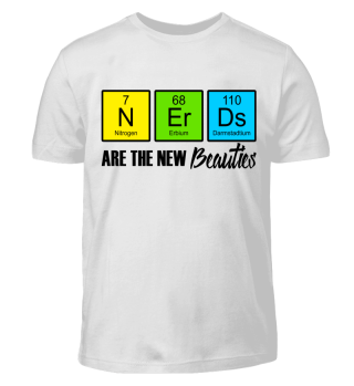 Chemical Elements - Beauty NERDS - black