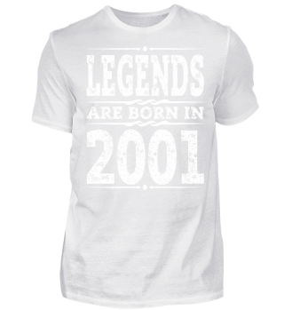 2001 T-Shirt, 16th Birthday Gift