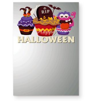 Happy Halloween Muffins Comic
