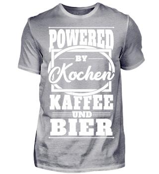 Powered by Kochen Kaffee und Bier