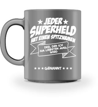 Superheld (Tasse) - personalisierbar