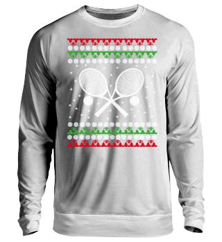 Tennis Ugly Xmas Sweater Geschenk