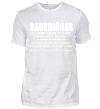 Sauenjäger - Wildschweinjäger Definition