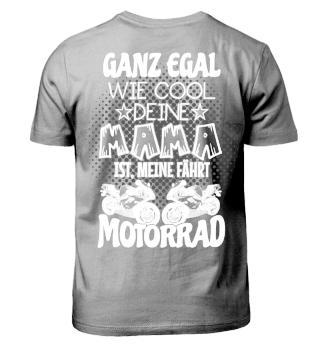 Meine Mama fährt Motorrad!
