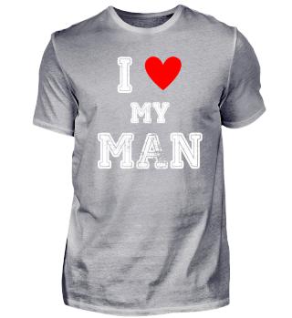 Ich liebe meinen Mann I love my Man