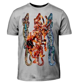 ★ Kokopelli Musican Lizards I