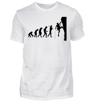 Climber Climbing Gift Evolution Shirt