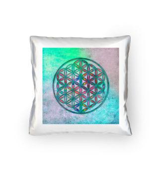 Flower Of Life - Antique Grunge Colors 2