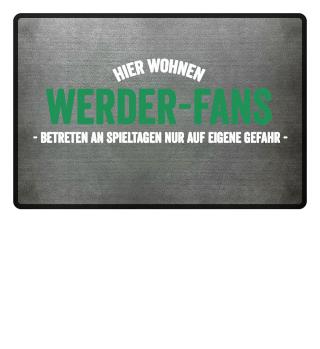Hier wohnen Werder-Fans..