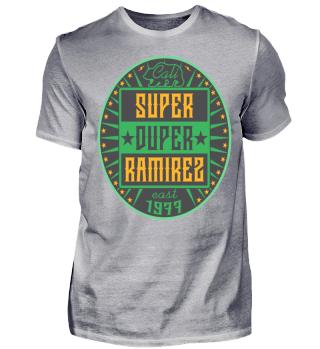 Herren Kurzarm T-Shirt Super Duper Ramirez