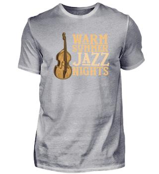 Jazz Nacht Kontrabass Jazz Liebhaber