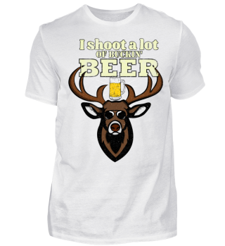Deer Hunter T Shirt Funny Hunting Buck